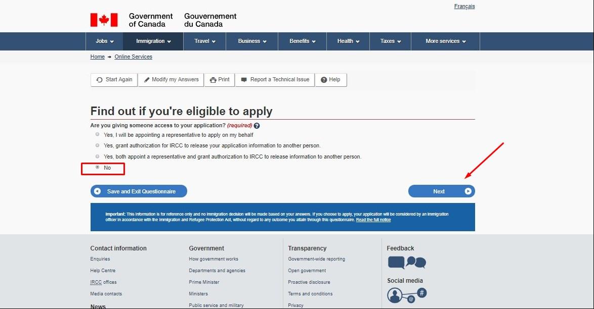Подать заявку на визу в Канаду