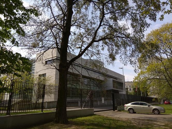 консульство Канады в Варшаве. Доставка документов