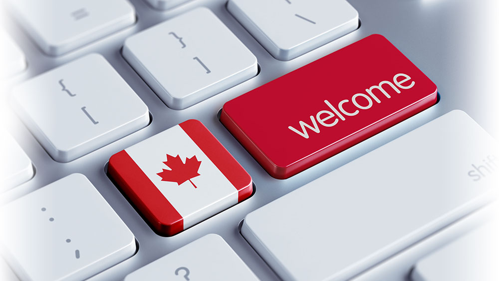 вклейка визы канада в варшаве